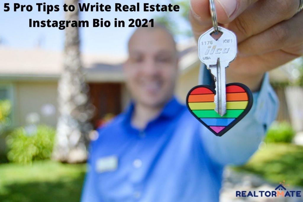 5 Pro Tips to Write Real Estate Instagram Bio in 2021
